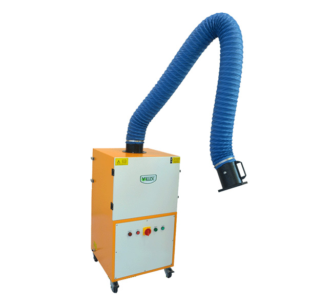filter cartridge welding fume extractor