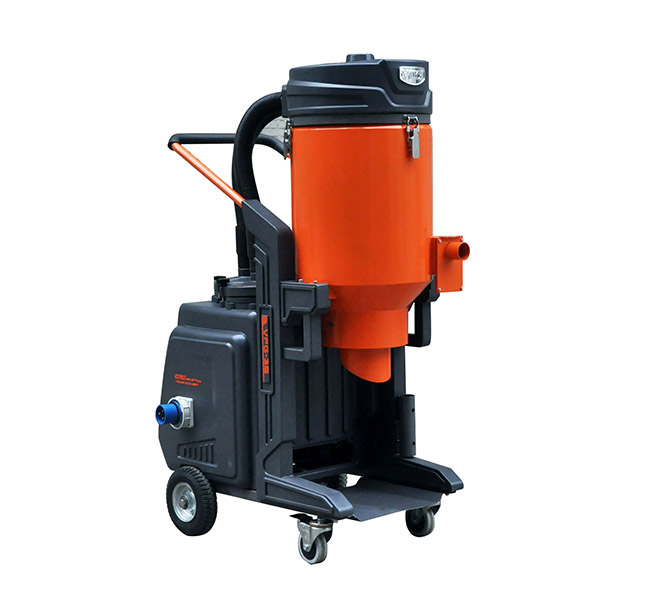 Self-cleaning Concrete Vacuum Cleaner