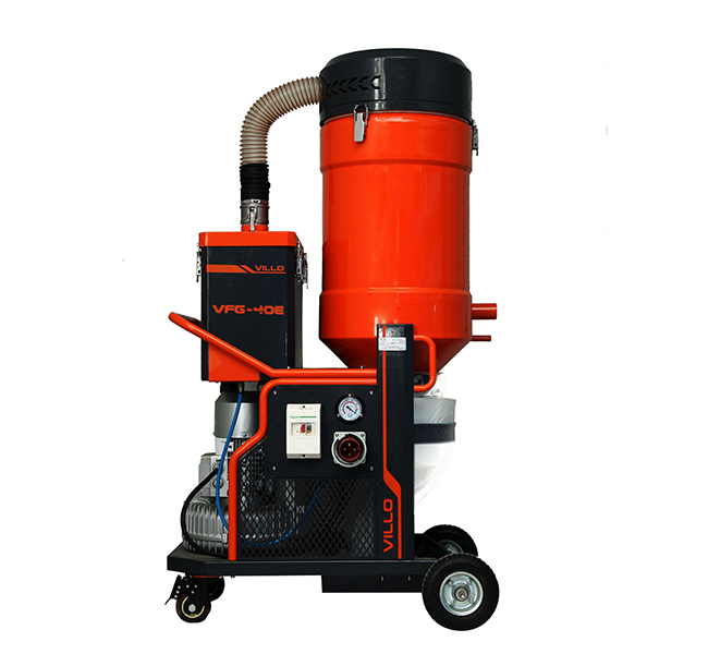 Three Phase Dust Extractor For Small Floor Grinders Vfg